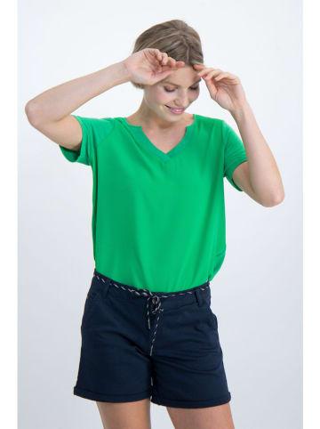 Garcia Koszulka w kolorze zielonym