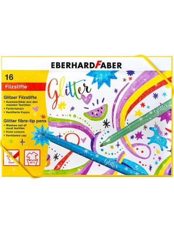 Eberhard Faber Glitzer-Fasermaler - 16 Stück