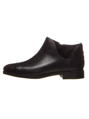 """Timberland Leder-Ankle-Boots """"Somers Falls"""" in Schwarz"""