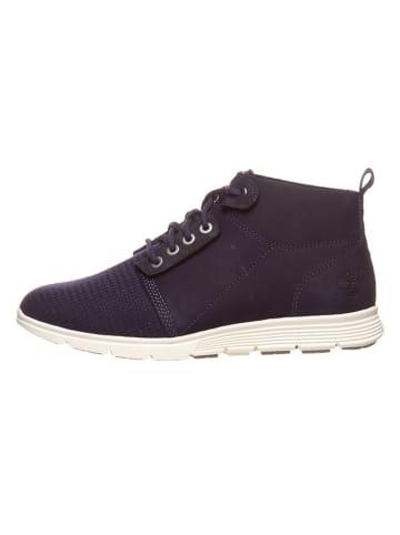 """Timberland Leren sneakers """"Killington"""" donkerblauw - wijdte W"""