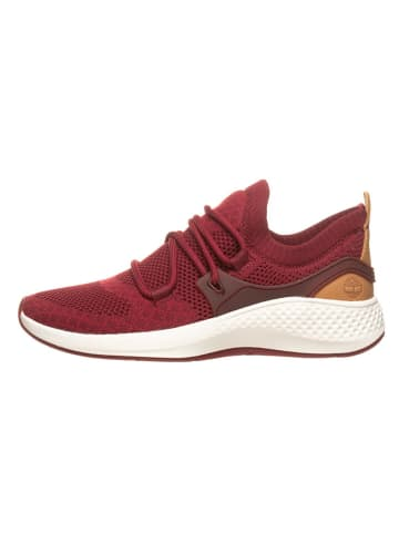 "Timberland Sneakers ""Flyroam Go Knit"" bordeaux"