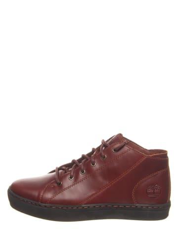 """Timberland Leren sneakers """"Adventure"""" bordeaux - wijdte M"""