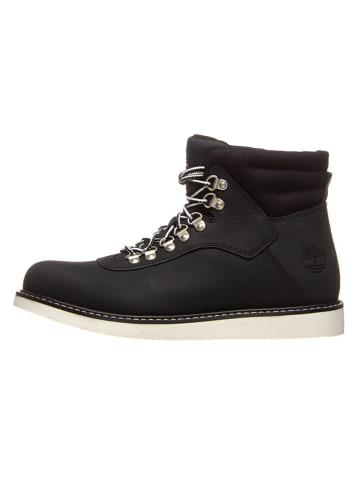 "Timberland Leder-Boots ""Newmarket Archive"" in Schwarz"