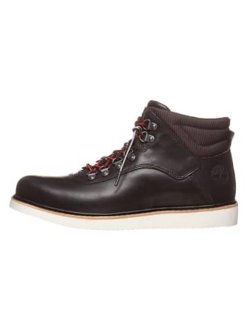 "Timberland Leder-Boots ""Newmarket"" in Schwarz"