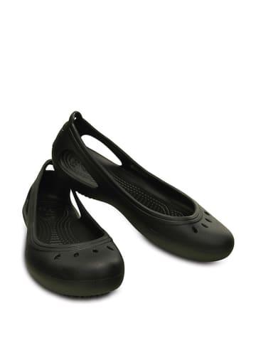 """Crocs Baleriny """"Kadee Work Flat"""" w kolorze czarnym"""
