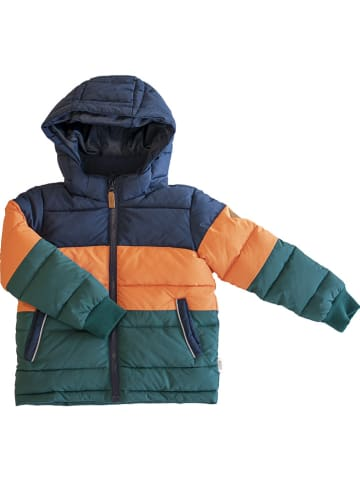 "Ebbe Winterjacke ""Bruce"" in Dunkelblau/ Orange/ Dunkelgrün"