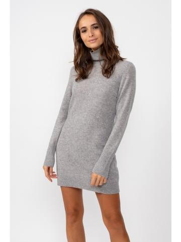 "Perfect Cashmere Kasjmieren jurk ""Amanda"" grijs"