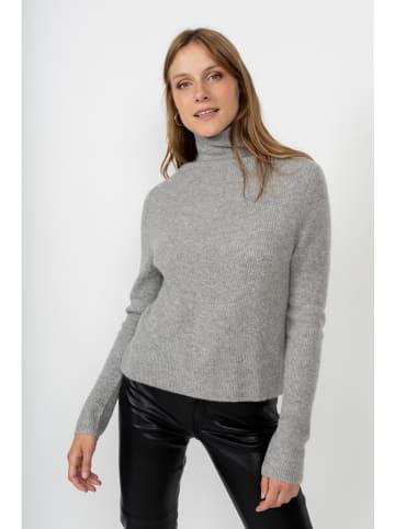 """Perfect Cashmere Kaszmirowy sweter """"Ruby"""" w kolorze szarym"""