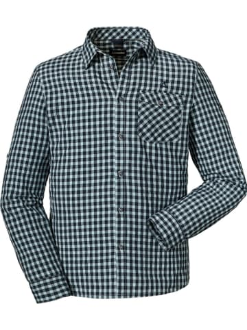 "Schöffel Functionele blouse ""Jenbach"" zwart/wit"
