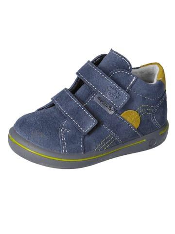 """PEPINO Leren sneakers """"Liam-S"""" donkerblauw/blauw"""