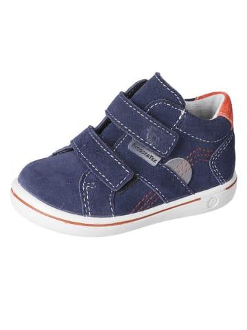 "PEPINO Leren sneakers ""Liam-S"" donkerblauw"