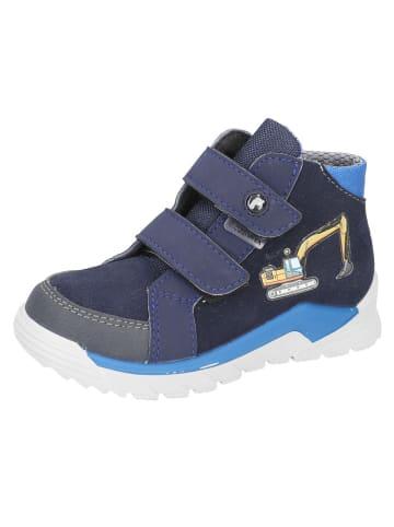 """Ricosta Leren sneakers """"Noah - S"""" donkerblauw"""