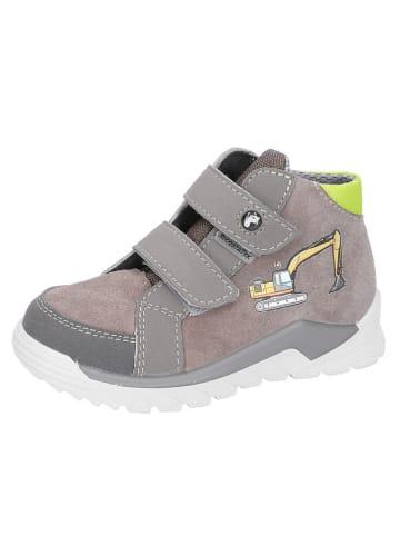 """Ricosta Leren sneakers """"Noah - S"""" grijs"""