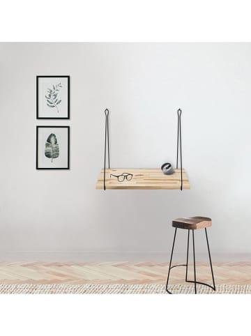 """Evila Biurko """"CM-002"""" w kolorze czarno-jasnobrązowym - 60 x 50 x 55 cm"""