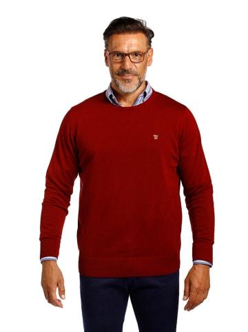 The Time of Bocha Sweter w kolorze bordowym