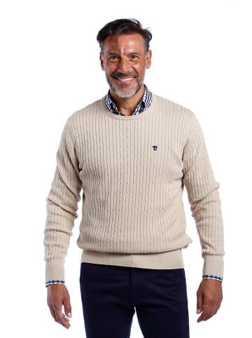 The Time of Bocha Sweter w kolorze kremowym