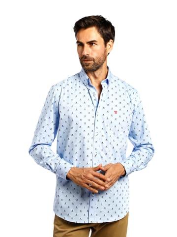 The Time of Bocha Koszula w kolorze jasnoniebieskim ze wzorem