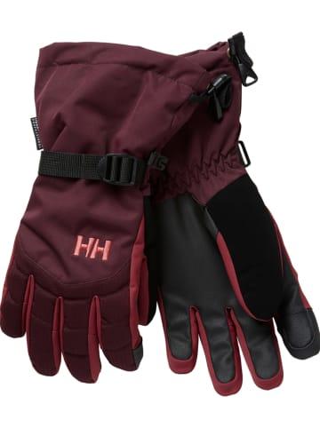 "Helly Hansen Handschuhe ""Juniper"" in Bordeaux"