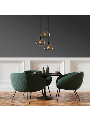 """Scandinavia Concept Lampa wisząca """"Smoked"""" w kolorze czarnym - Ø 61 cm"""