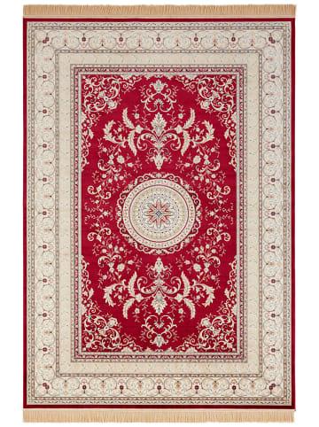 "Nouristan Geweven tapijt ""Antique Negar - Samt"" rood/crème"