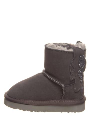 "Lelli Kelly Leder-Boots ""Chiara"" in Grau"