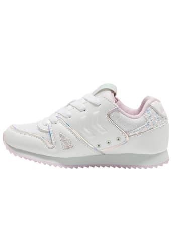 """Hummel Sneakersy """"Marathina Shine JR"""" w kolorze białym"""