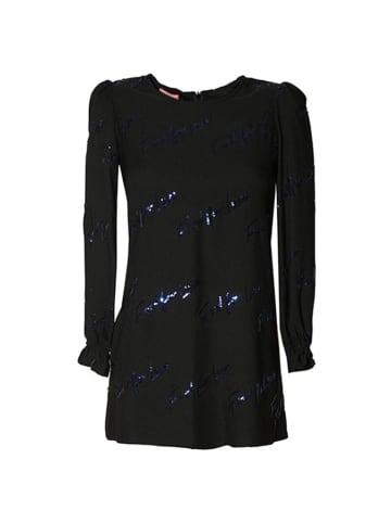 Pinko Sukienka w kolorze czarno-niebieskim