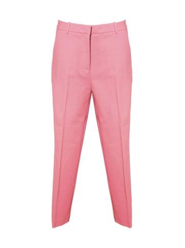 Pinko Spodnie w kolorze różowym