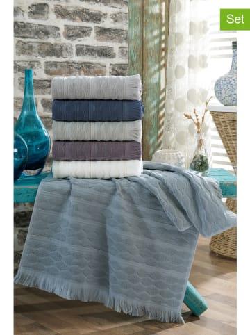 """Colourful Cotton Kolorowe ręczniki (6 szt.) """"Arvadia"""""""
