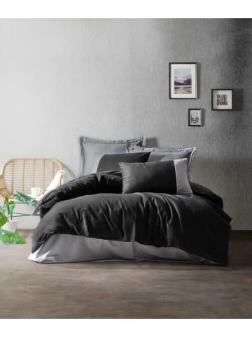 Colourful Cotton Renforcé beddengoedset zwart/grijs