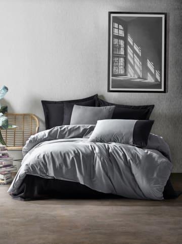 Colourful Cotton Renforcé beddengoedset grijs/zwart