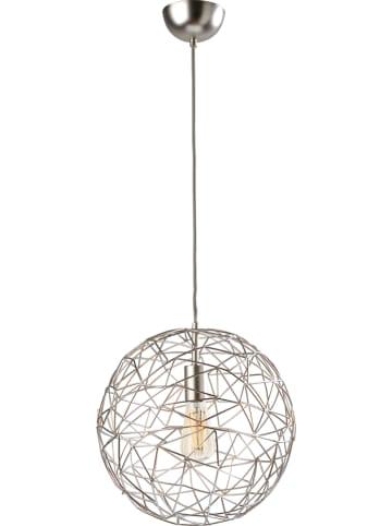 """Sompex Hängeleuchte """"Cage"""" in Silber - Ø 35 cm"""