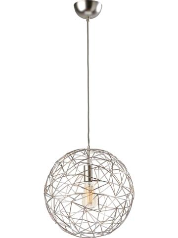 "Sompex Lampa wisząca ""Cage"" w kolorze srebrnym - Ø 60 cm"