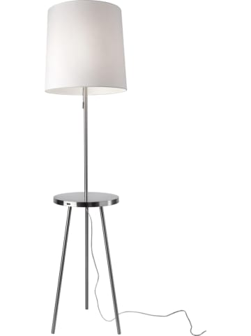 "Sompex Staande lamp ""Tabulo"" wit - (H)165 cm x Ø 35 cm"