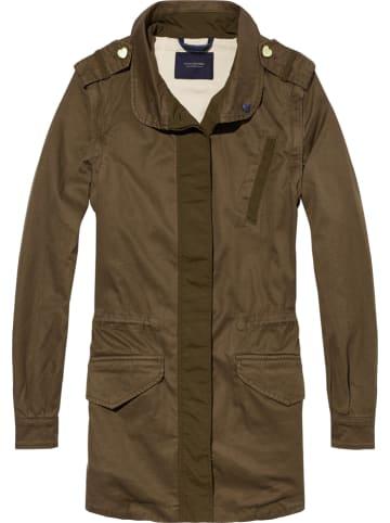 Scotch & Soda Płaszcz przejściowy w kolorze khaki