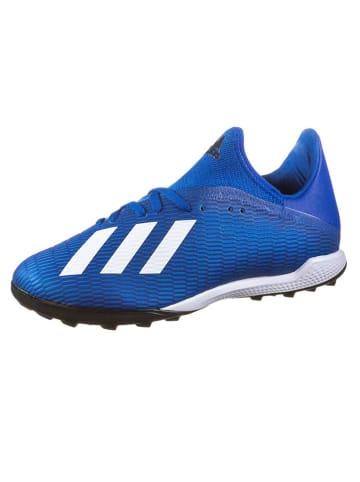 """Adidas Voetbalschoenen """"X 19.3 TF"""" blauw"""