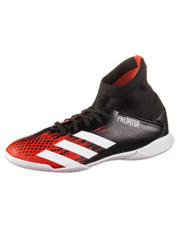 "Adidas Performance Voetbalschoenen ""Predator 20.3 IN"" zwart/rood"