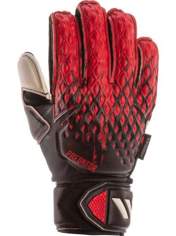 """Adidas Rękawice bramkarskie """"Pred GL MTC FSJ"""" w kolorze czarno-czerwonym"""