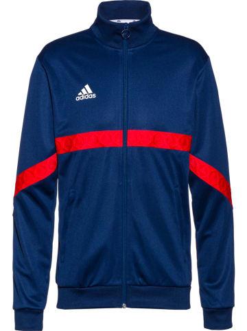 "Adidas Performance Fleece vest ""Tango"" donkerblauw"