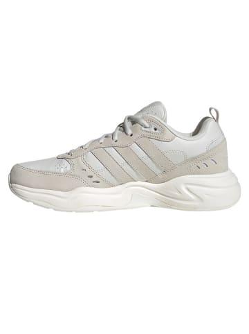 """Adidas Leren sneakers """"Strutter"""" lichtgrijs/beige"""