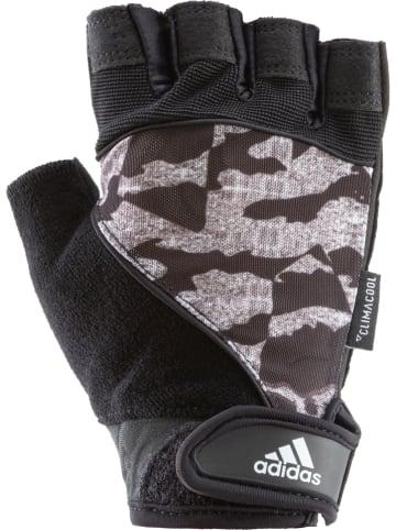 Adidas Rękawice w kolorze czarnym do fitnessu