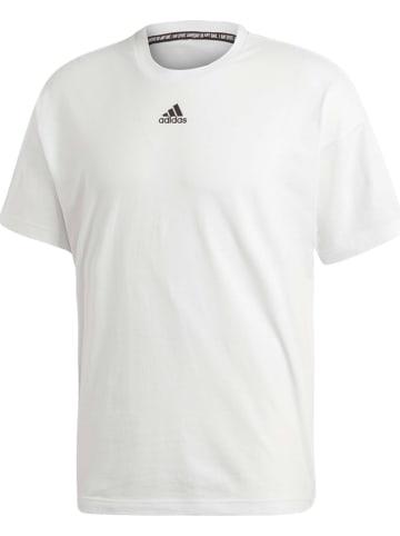 Adidas Shirt in Weiß