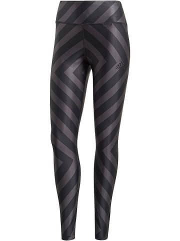 Adidas Trainingslegging zwart/grijs