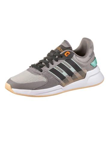 """Adidas Sneakers """"Run90S"""" in Grau/ Gelb"""