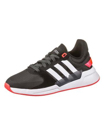 "Adidas Sneakers ""Run90S"" in Schwarz/ Weiß/ Rot"