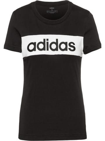 Adidas Shirt in Schwarz