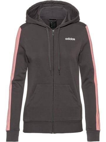 Adidas Sweatjacke in Grau