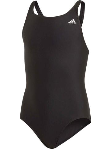"""Adidas Badeanzug """"Fit Suit Sol Y"""" in Schwarz"""