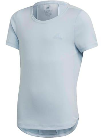 """Adidas Koszulka sportowa """"JG TR H.R"""" w kolorze błękitnym"""