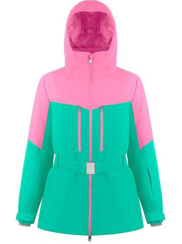 Poivre Blanc Kurtka narciarska w kolorze jasnoróżowo-zielonym